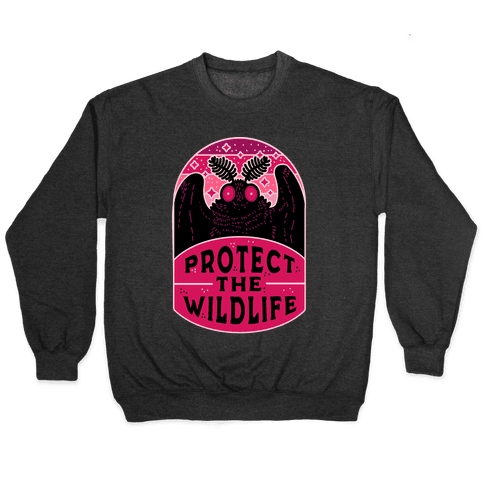 Protect the Wildlife (Mothman) Pullover