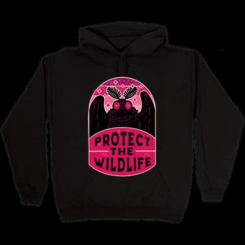 Protect the Wildlife (Mothman) Hooded Sweatshirt