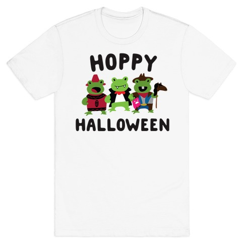 Hoppy Halloween Frogs T-Shirt