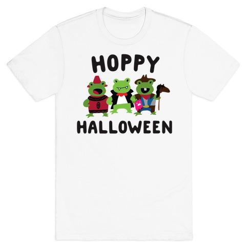 Hoppy Halloween Frogs T-Shirt