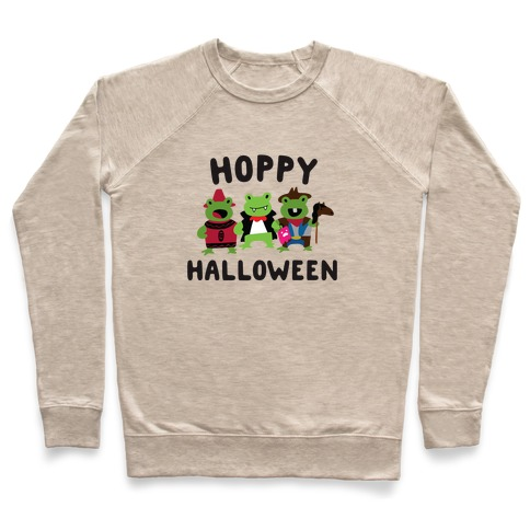 Hoppy Halloween Frogs Pullover