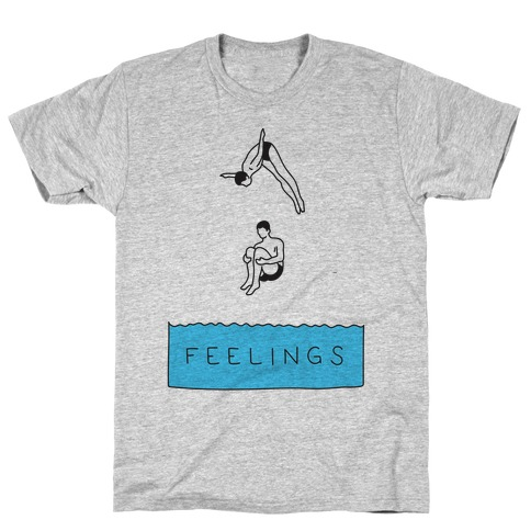 Diving Into Feelings T-Shirt