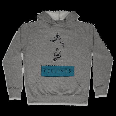 Diving Into Feelings Hooded Sweatshirt