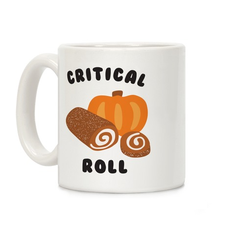 Critical Pumpkin Roll Coffee Mug