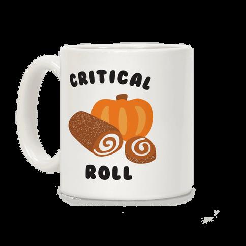 Critical Pumpkin Roll Coffee Mug