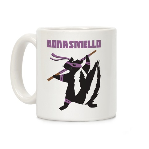 Donasmello (Donatello Skunk) Coffee Mug