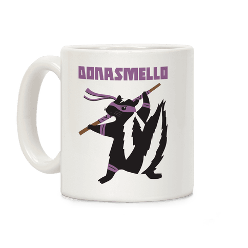 Donasmello (Donatello Skunk) Coffee Mug