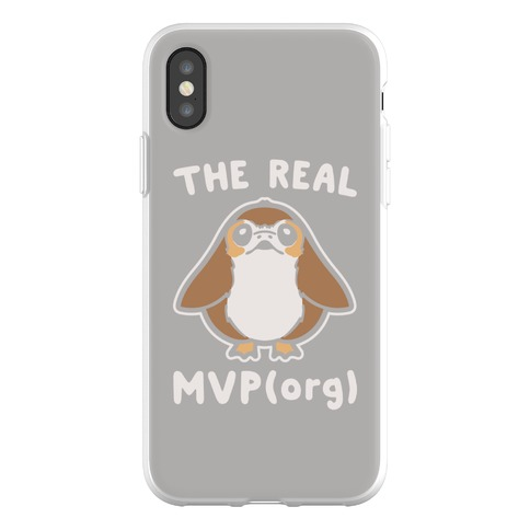 check out ece40 6b2a3 The Real MVP Porg Parody Phone Flexi-Cases | LookHUMAN
