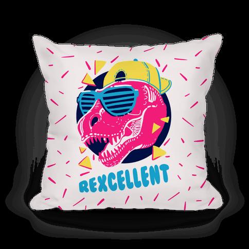 T- Rexcellent 90's Dinosaur Pillow