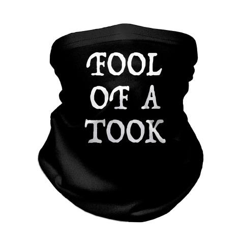"""""""Fool of a Took"""" Gandalf Quote Neck Gaiter"""