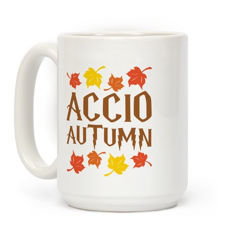 Accio Autumn Parody Coffee Mug