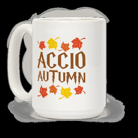 Accio Autumn Parody Coffee Mug