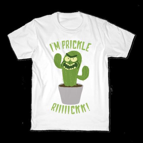 I'M PRICKLE RICK!! Kids T-Shirt