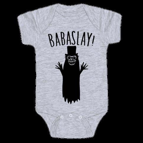 Babaslay Parody Baby Onesy