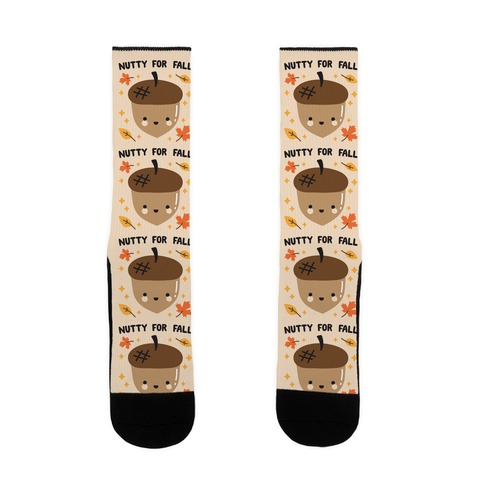 Nutty For Fall Sock