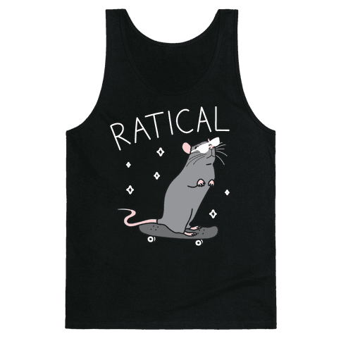 Ratical Rat Tank Top