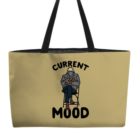 Current Mood Sassy Bernie Sanders Weekender Tote