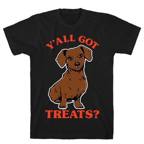 Y'all Got Treats Dachshund T-Shirt