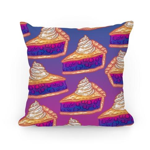 Grab a Slice of the Bi Pie Pillow