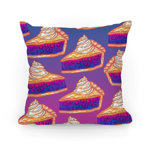 Grab a Slice of the Bi Pie Pillow