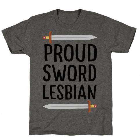 Proud Sword Lesbian T-Shirt