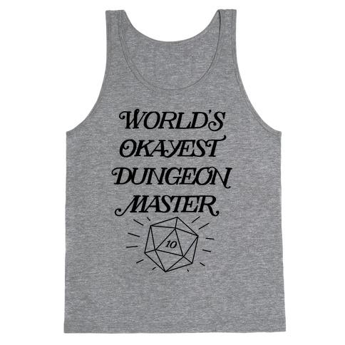 World's Okayest Dungeon Master Tank Top