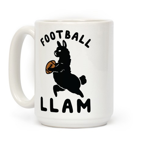 Football Llam Coffee Mug