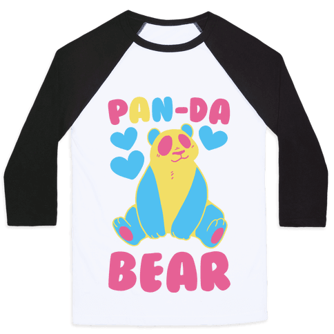 Pan-Da Bear Baseball Tee