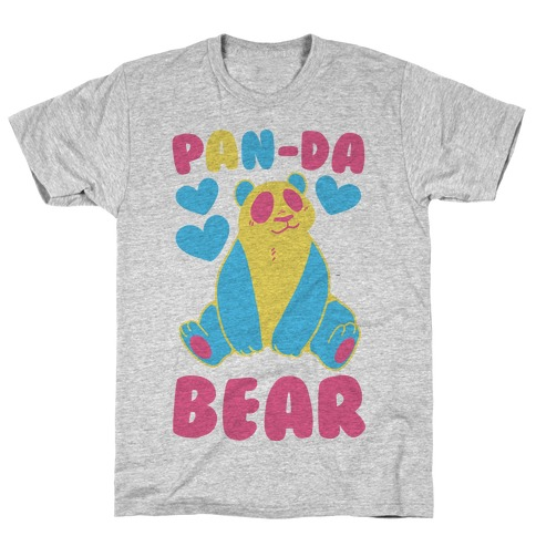 Pan-Da Bear T-Shirt