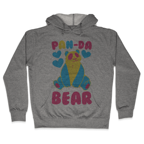 Pan-Da Bear Hooded Sweatshirt