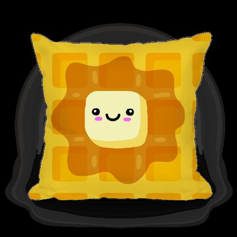Kawaii Waffle Pillow