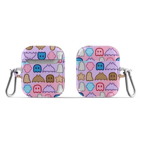 Spoopy Cereal Parody Pattern AirPod Case