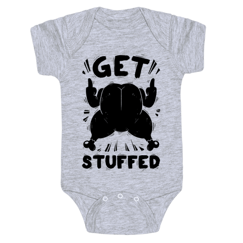 Get Stuffed Baby Onesy