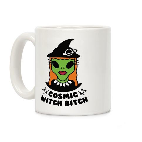 Cosmic Witch Bitch Coffee Mug