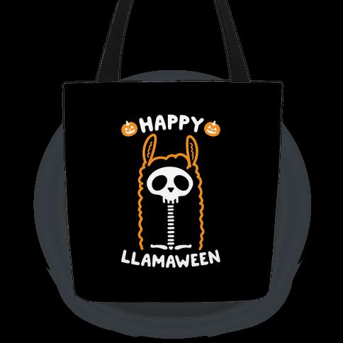 Happy Llamaween Tote