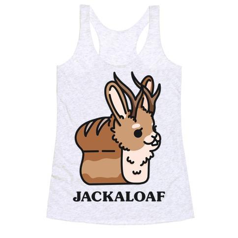 Jackaloaf Racerback Tank Top