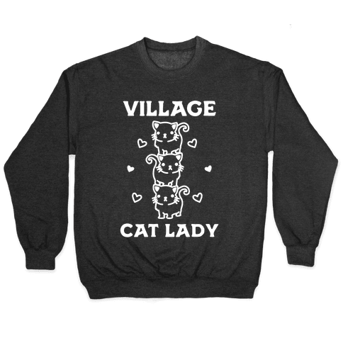 Village Cat Lady Pullover