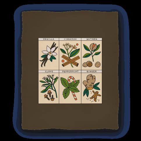 Holiday Spice Botanicals Blanket