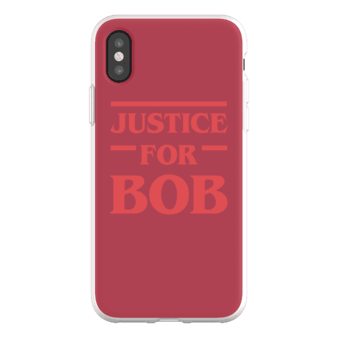 Justice For Bob Phone Flexi-Case