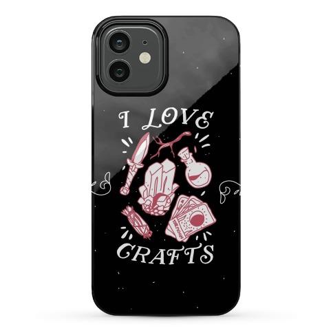 I Love (Witch) Crafts Phone Case