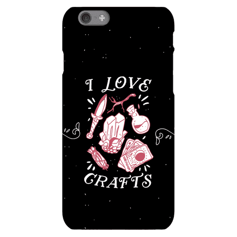 I Love (Witch) Crafts Phone Case