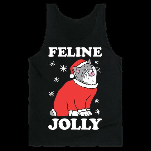 Feline Jolly Cat Tank Top