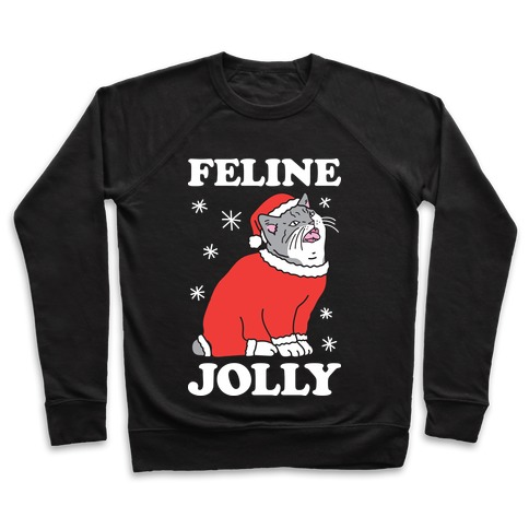 Feline Jolly Cat Pullover