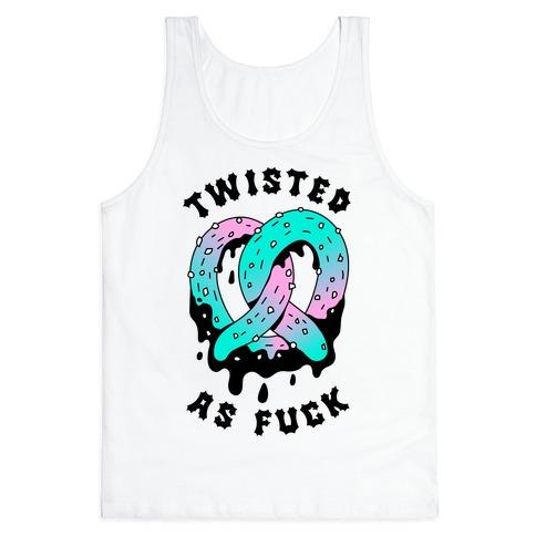 Twisted as F*** Pretzel Tank Top