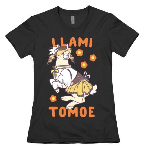 Llami Tomoe Womens T-Shirt