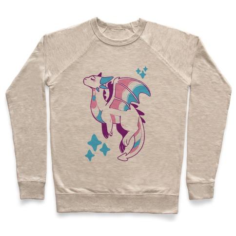 Trans Pride Dragon Pullover