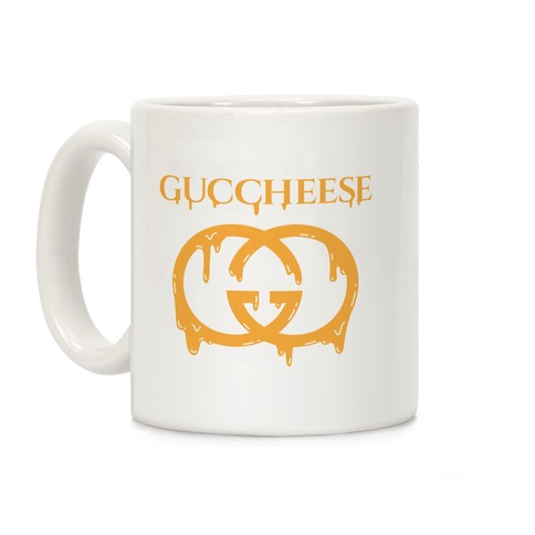Guccheese Cheesy Gucci Parody Coffee Mug