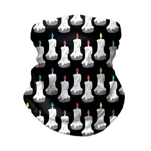Gay Flame Pattern Neck Gaiter