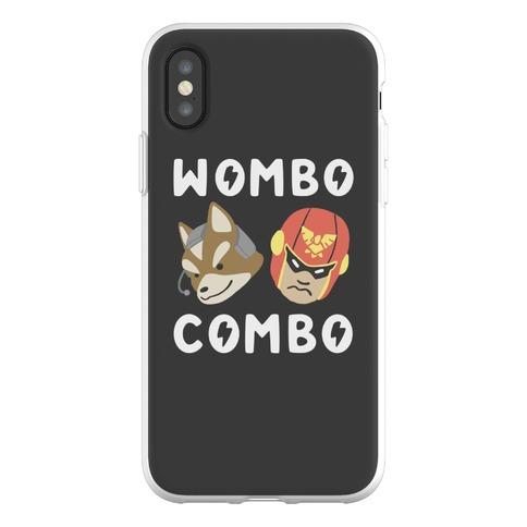 Wombo Combo - Fox and Captain Falcon Phone Flexi-Case