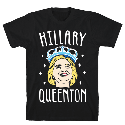Hillary Queenton (White) Mens T-Shirt